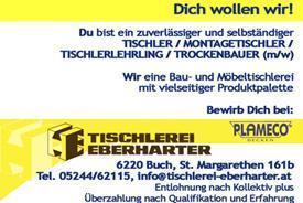 Tischlerei Eberharter