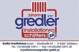 Installationen Gredler Schlitters